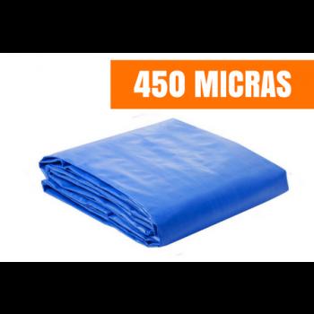 Lona de Ráfia de Polietileno 450 MICRAS 6x4m