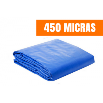 Lona de Ráfia de Polietileno 450 MICRAS 21x8m