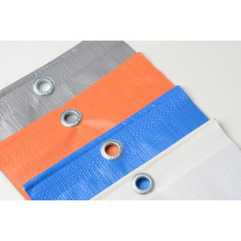 Lona Plástica 7,5X7m - Prata